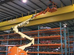 Boom Lift in Use, Above All Equipment Boom Lift in Action, Boom Lift in Action